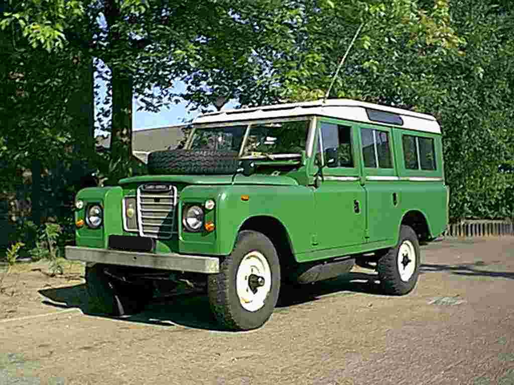 Land Rover 109 Serie III